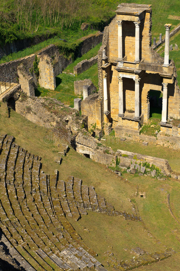 Download Remains Of Roman Amphitheatre In Volterra Stock Photos - Image: 19449023