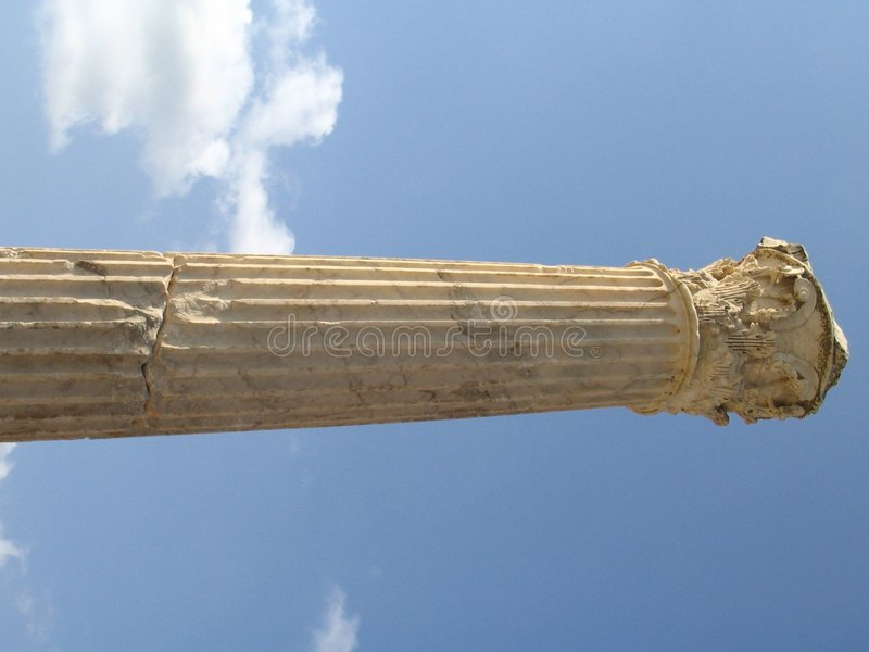 Remains of Roman Empire stock photos
