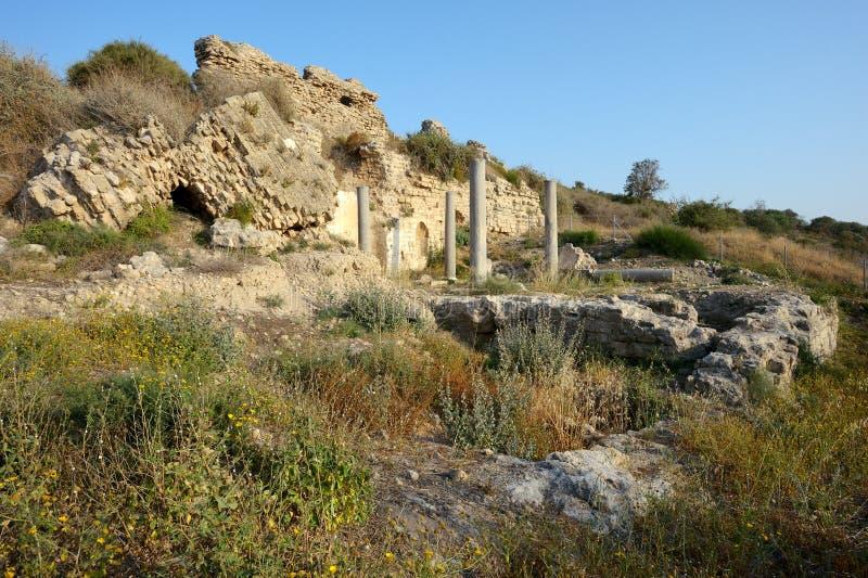 Remains of the Saint Mary Viridis Church stock photo
