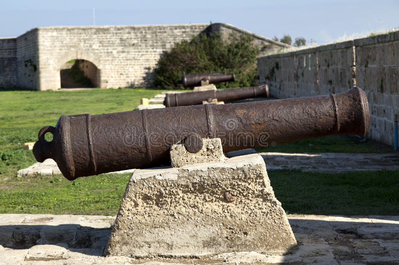 Napoleon's Cannons stock photography