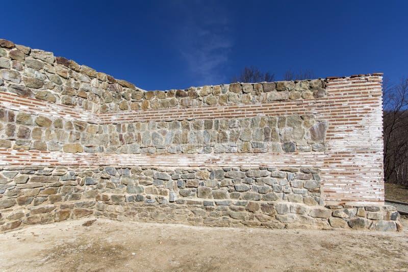 Remanente de antiguo romano fortaleza la puerta del Trajan, Sofia Region, Bulgaria fotos de archivo libres de regalías