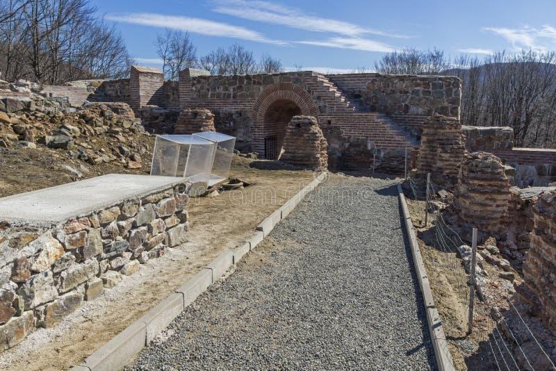 Remanente de antiguo romano fortaleza la puerta del Trajan, Sofia Region, Bulgaria fotos de archivo