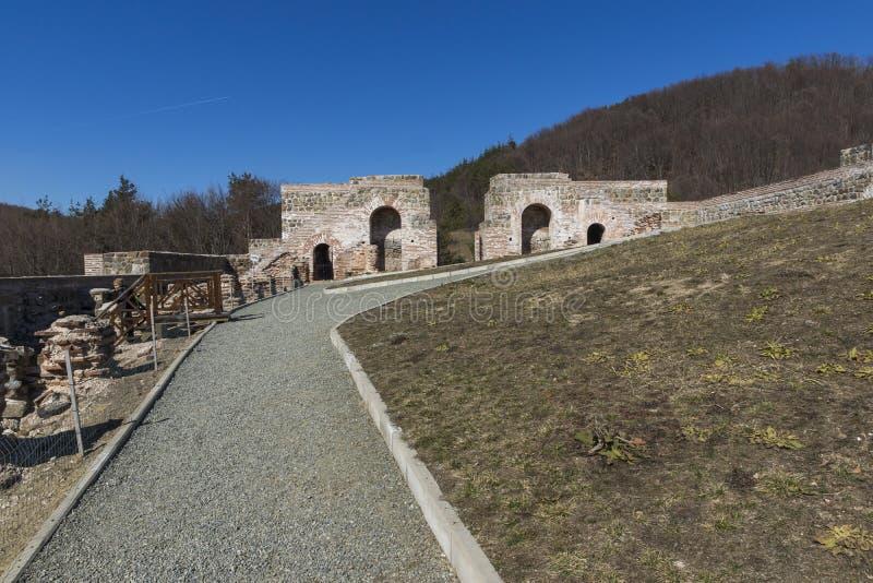 Remanente de antiguo romano fortaleza la puerta del Trajan, Sofia Region, Bulgaria fotografía de archivo libre de regalías