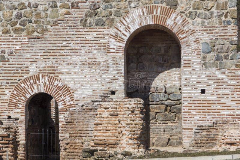 Remanente de antiguo romano fortaleza la puerta del Trajan, Sofia Region, Bulgaria imágenes de archivo libres de regalías
