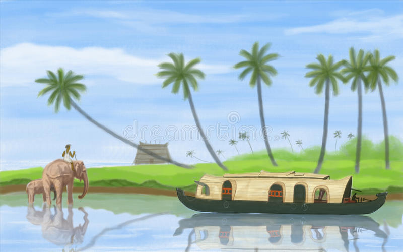 Remanso de Kerala libre illustration