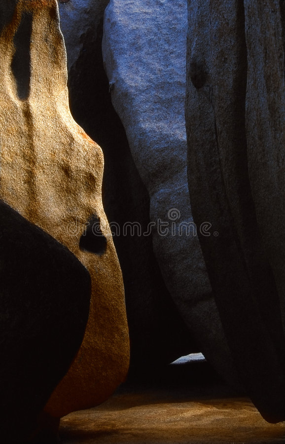 Remarkable Cave Of Remarkable Rocks Stock Image