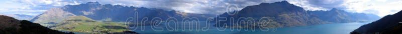 Remarkables панорамы гор Стоковые Фото