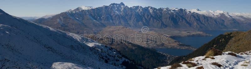 remarkables снежные стоковое изображение