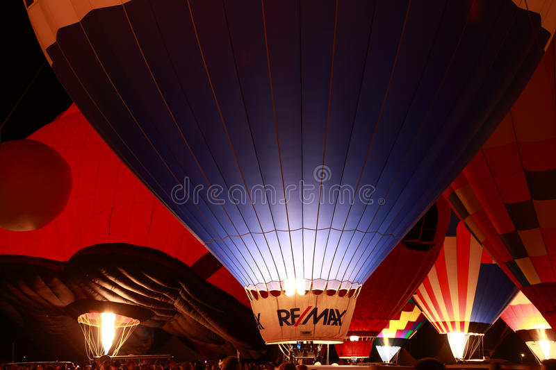 Download Remax Balloon at the Glow editorial stock image. Image of race - 26642189