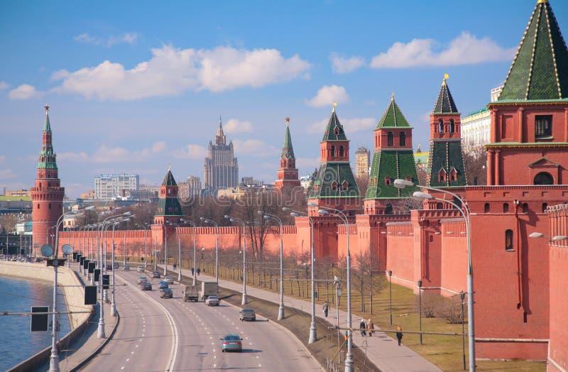 Remblai de Kremlin images libres de droits