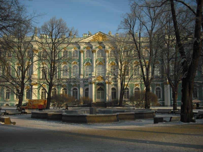 Remblai de Neva Patrimoine de Kuskovo photos stock
