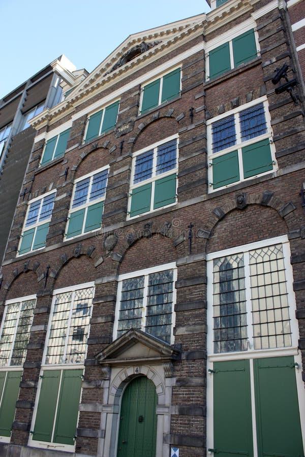 Rembrandt husmuseum royaltyfria foton