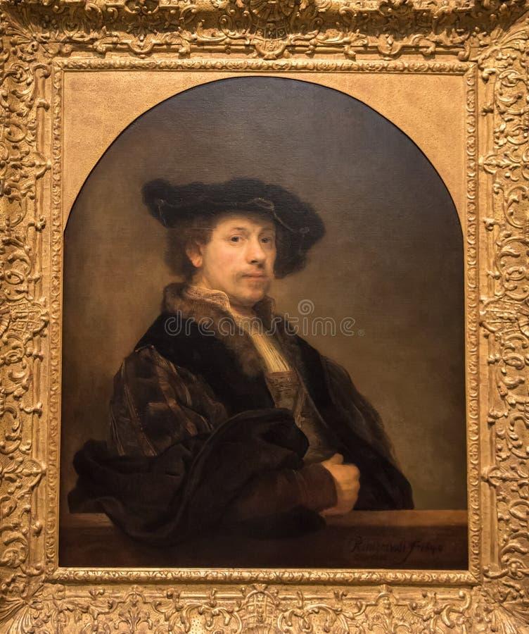 Free Rembrandt Van Rijn, Self Portrait Royalty Free Stock Photography - 92781237