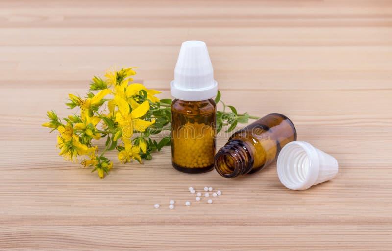 Remedio homeopático fotografía de archivo libre de regalías