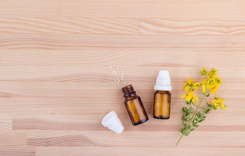 Remedio homeopático imagen de archivo