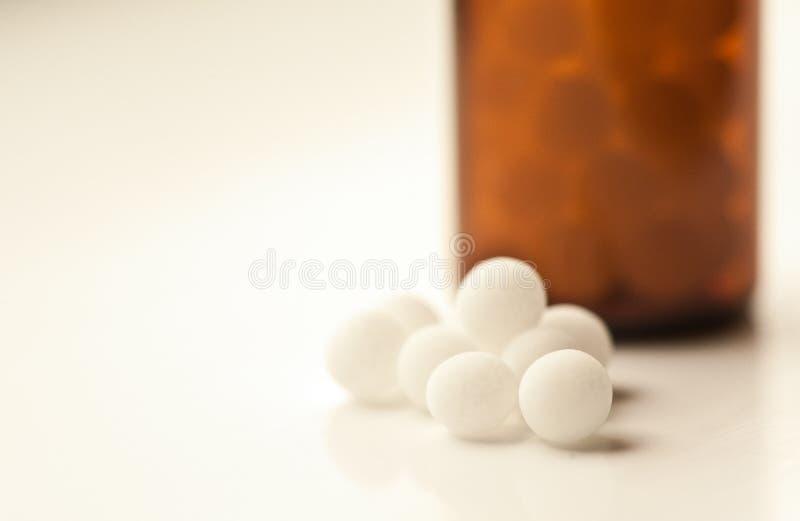Remedios homeopáticos fotos de archivo libres de regalías
