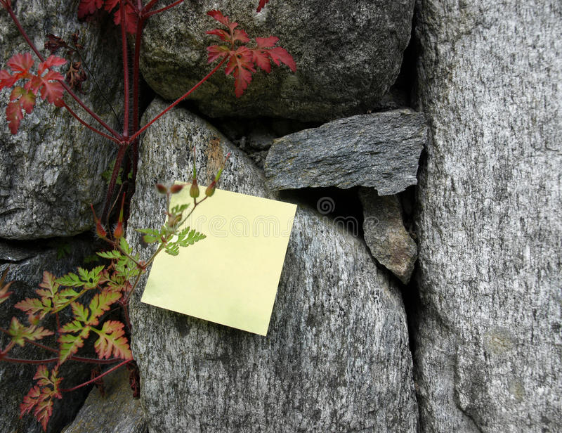 Remember: Post-it note royalty free stock images