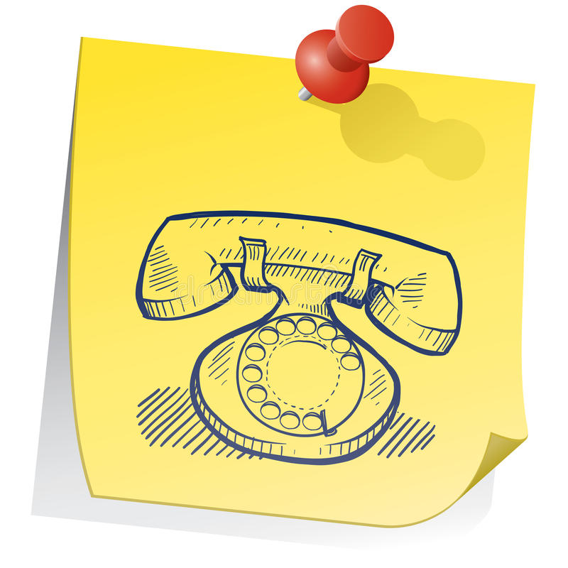 Download Remember to communicate stock illustration. Image of note - 22888216
