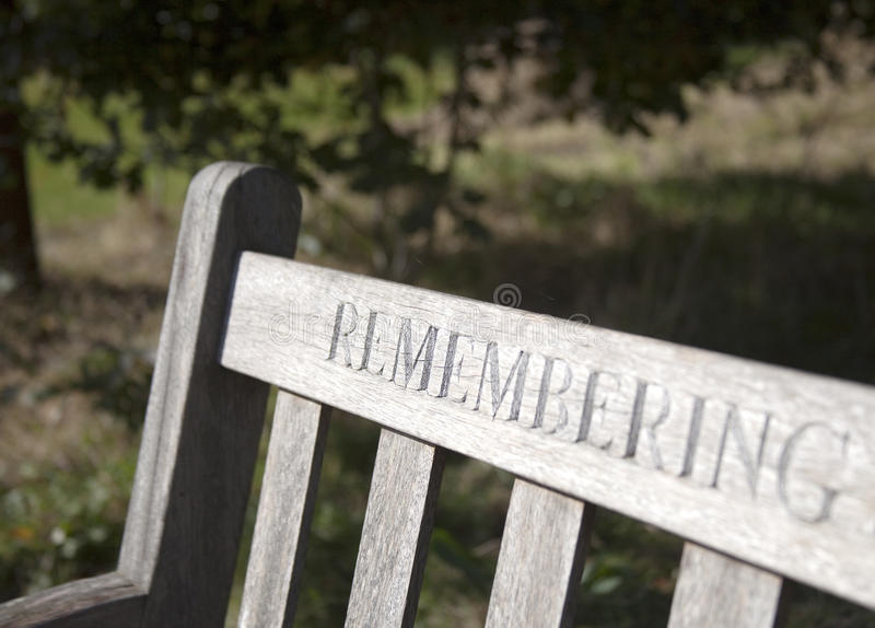 Remembering those who are no longer with us royalty free stock image
