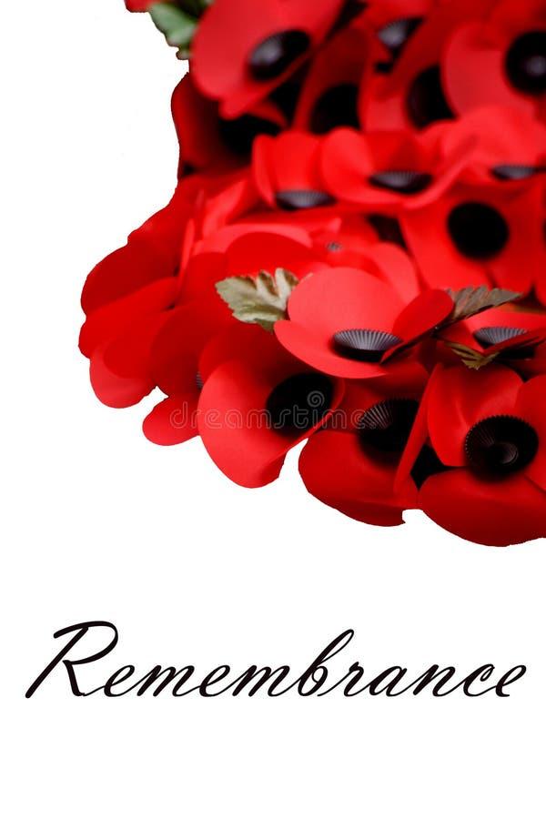 remembrance fotografia de stock royalty free