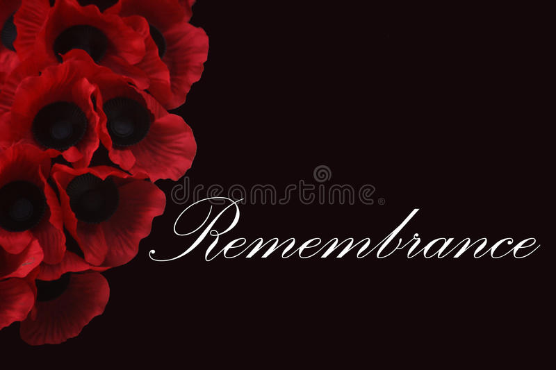 Remembrance royalty free stock photo