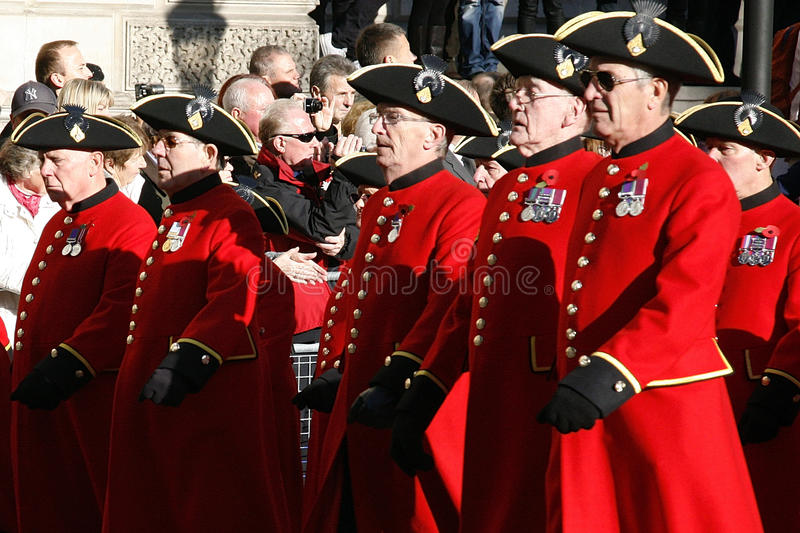 Remembrance Day Parade, 2012 Editorial Stock Image