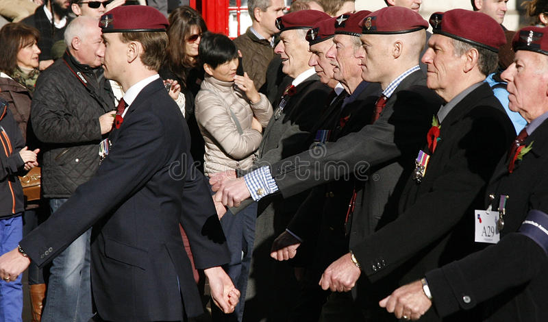 Remembrance Day Parade, 2012