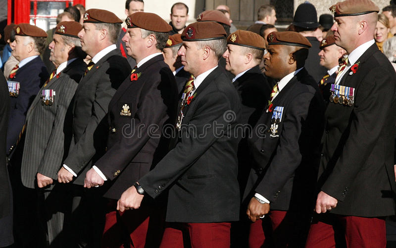 Remembrance Day Parade, 2012 Editorial Photo