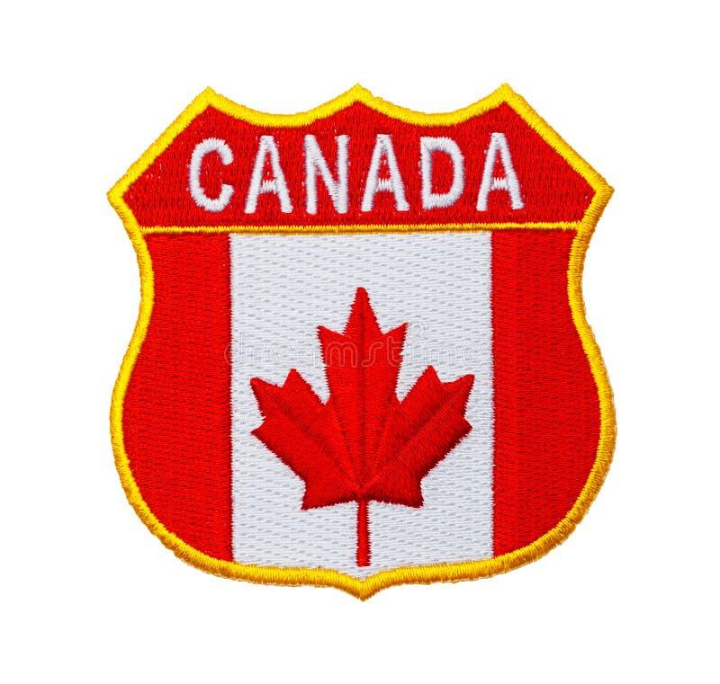 Remendo de Canadá imagens de stock royalty free