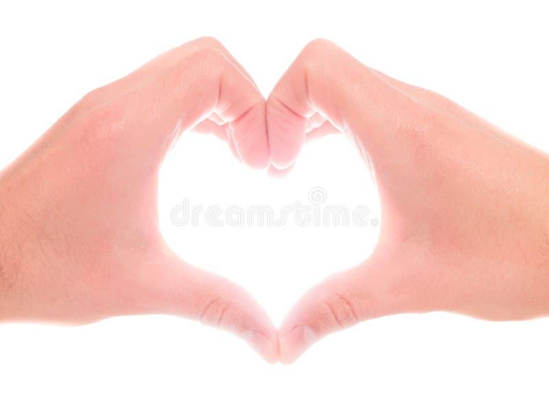 Remet le coeur image stock