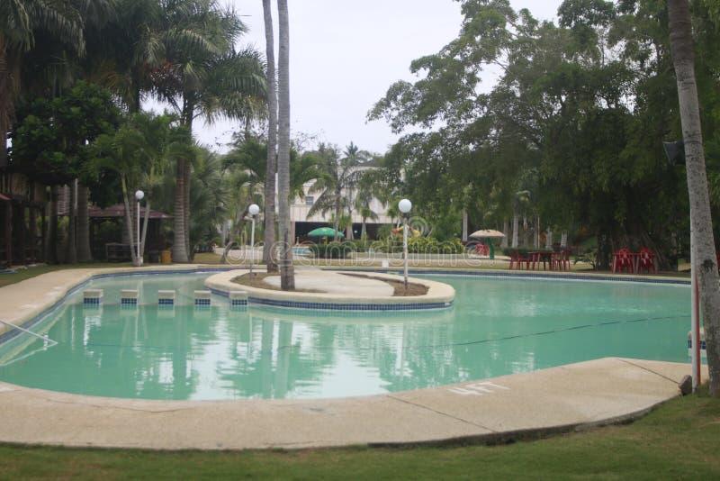 A remetió el pequeño centro turístico ausente la ciudad de Teledo en la provincia de Cebú Filipinas foto de archivo