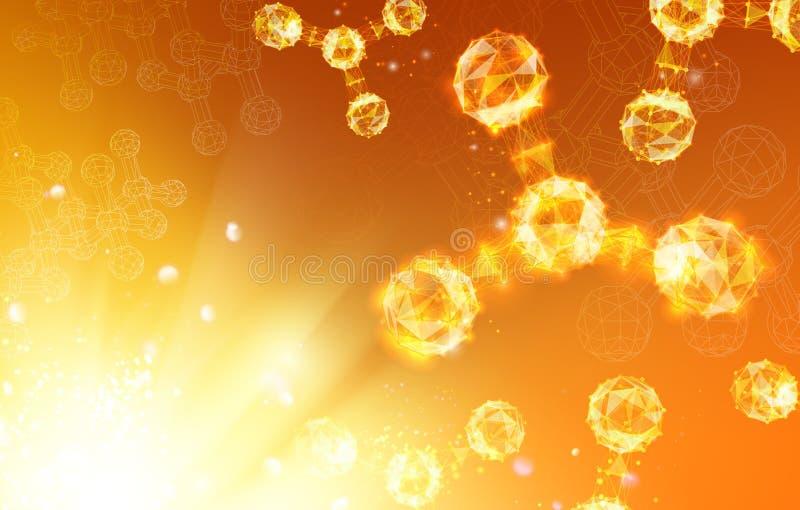 Remettez les atomes illustration libre de droits