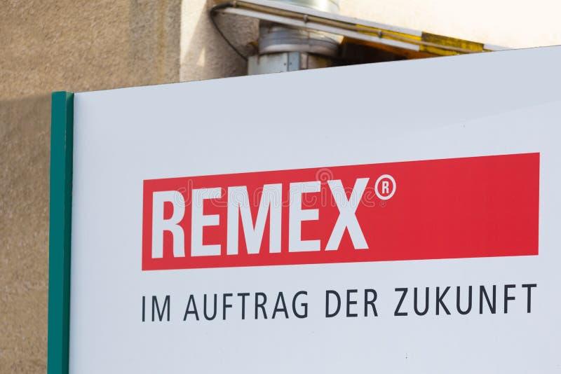 Remex unterzeichnen witten herein Deutschland stockbild