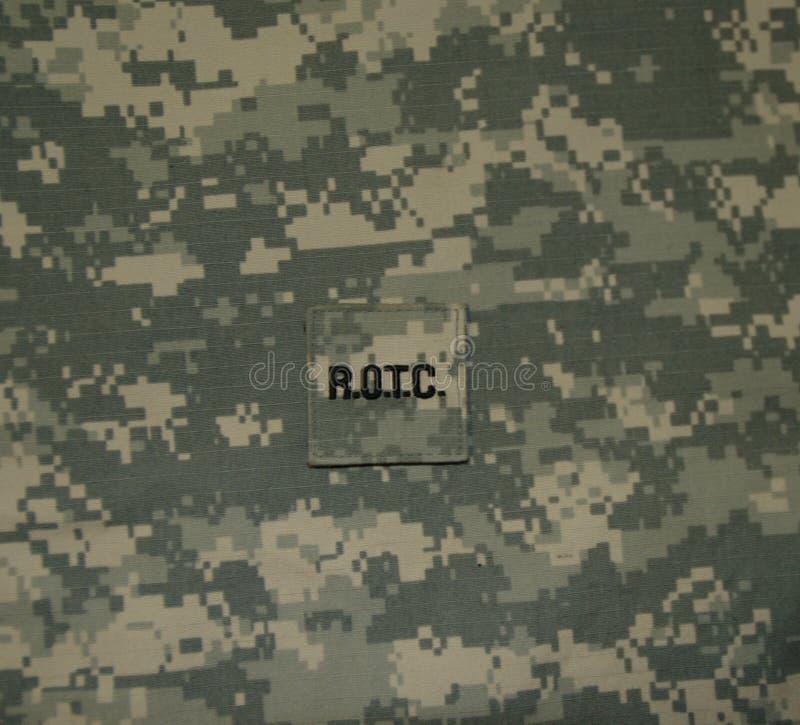 Remiendo de Estados Unidos ROTC en el ACU imagenes de archivo