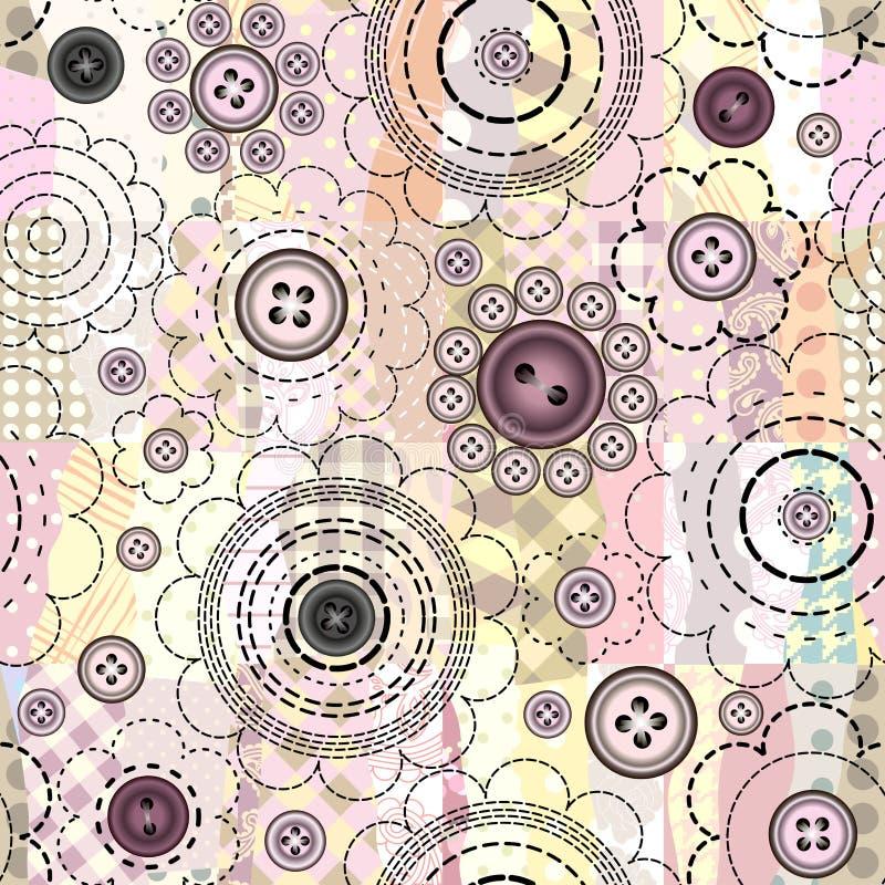 Remiendo y flores libre illustration