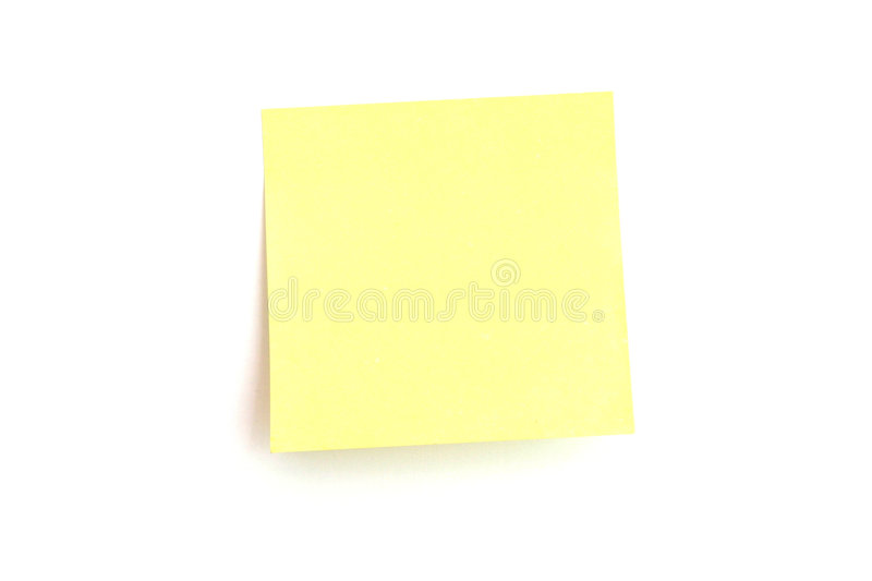 Reminder Note, Post-it!! Royalty Free Stock Images