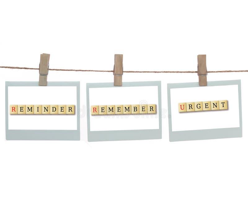 Download Reminder remember stock illustration. Image of advertisement - 26806306