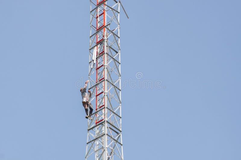 Reminds krzyżowanie antena fotografia stock