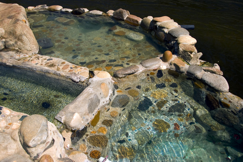 Reminton Hot Springs stock image