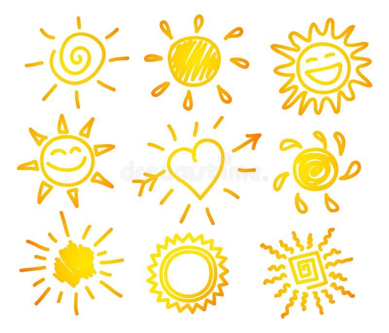 remisu mikrotelefonu słońce ilustracja wektor