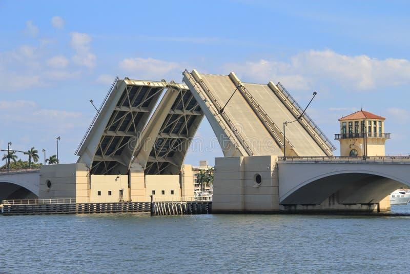 Remisu most w Zachodni palm beach obrazy stock