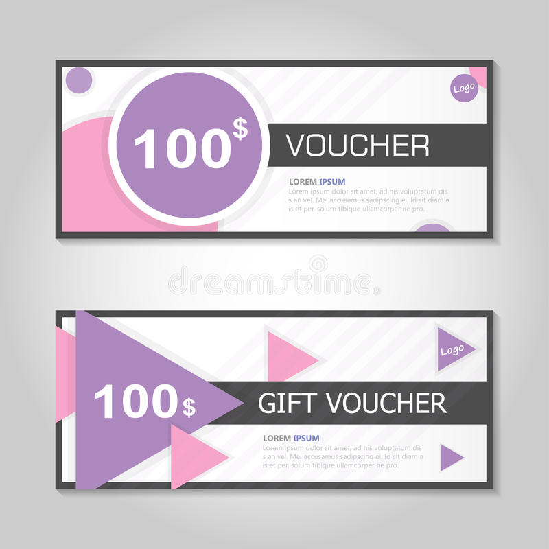Remium Elegance Pink And Gold Gift Voucher Template Layout Design ...