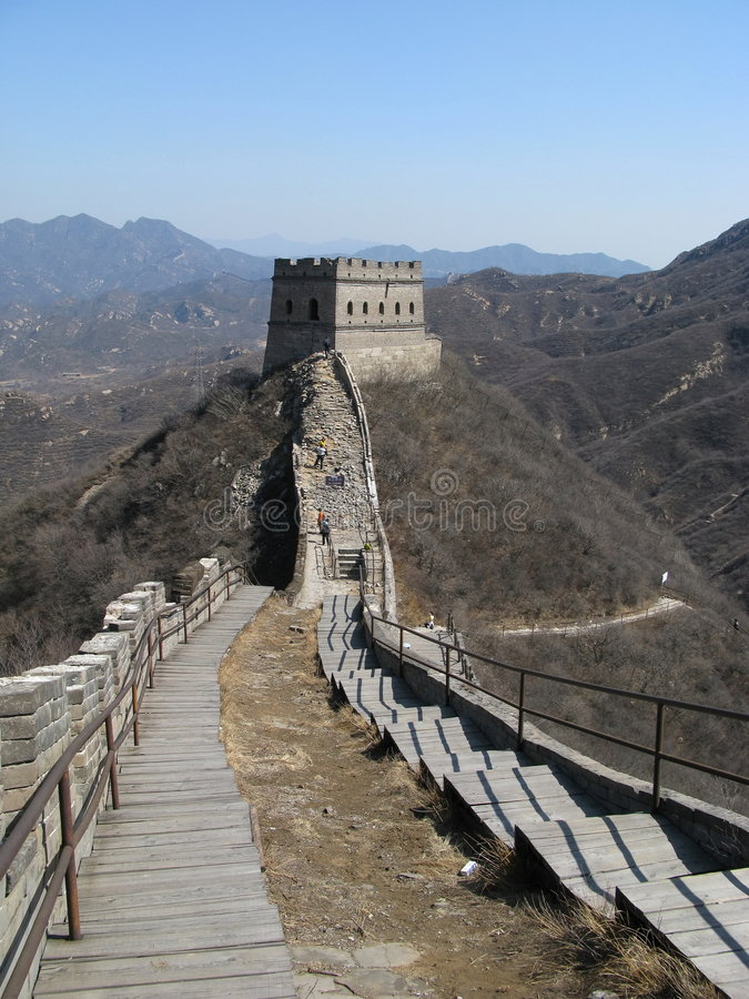 The remnant greatwall stock photography