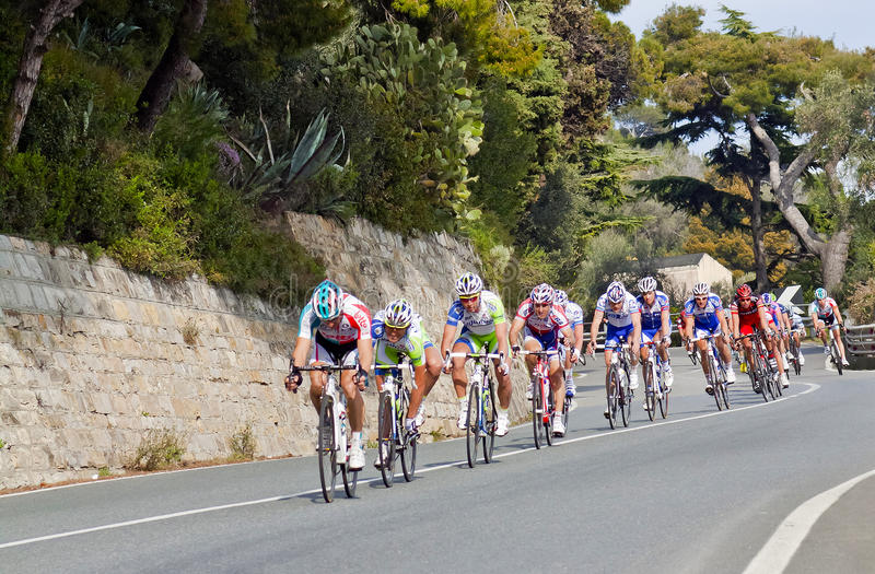 remo san гонки milano цикла к стоковые фото