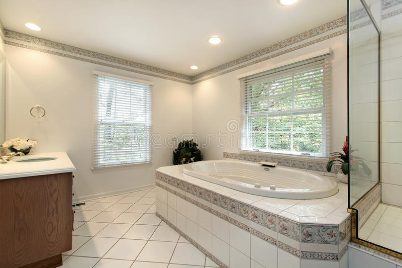 remodeled оригинал ванны домашний стоковое фото