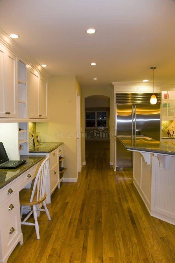 remodeled самомоднейшее кухни роскошное стоковое фото rf