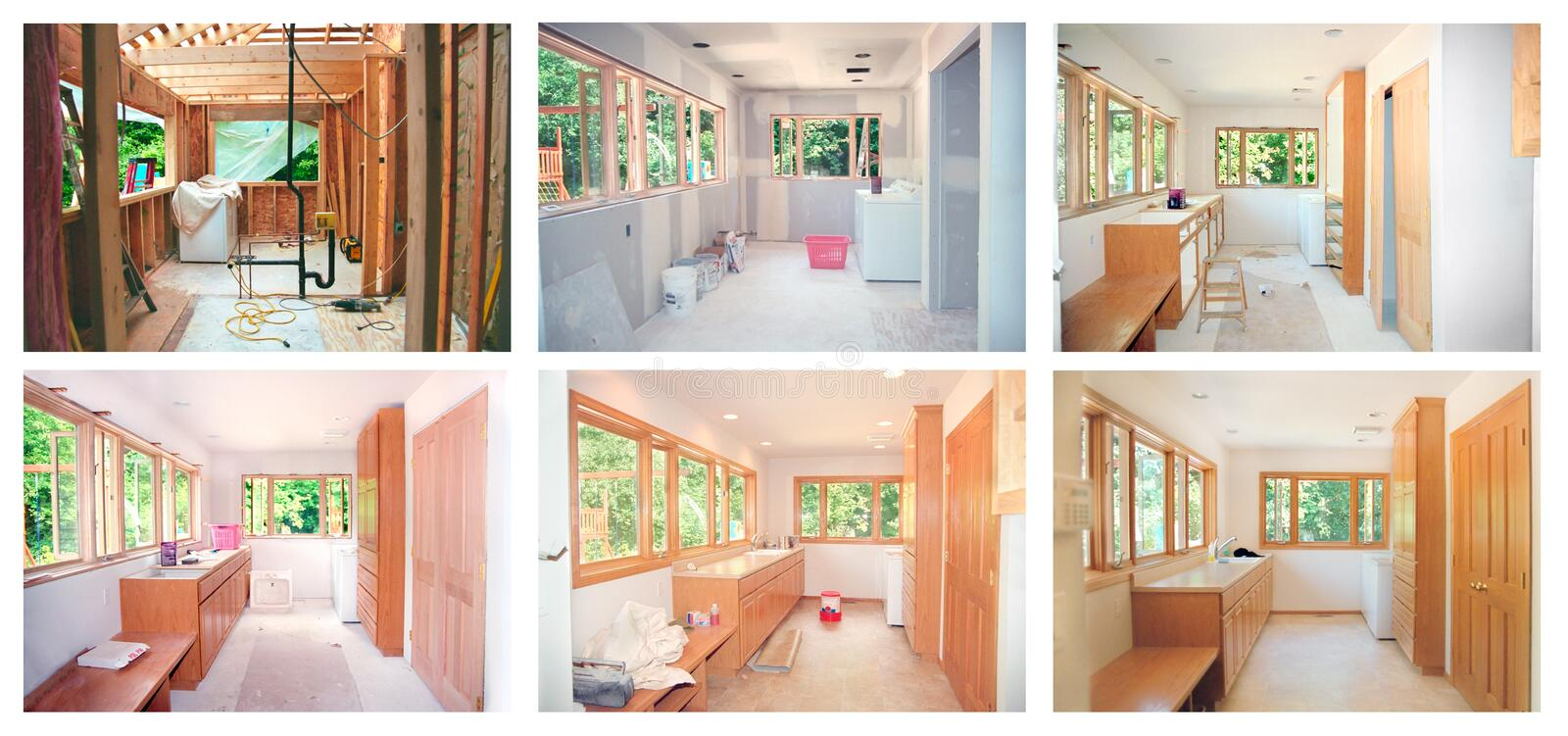 Remodeling royalty free stock photos