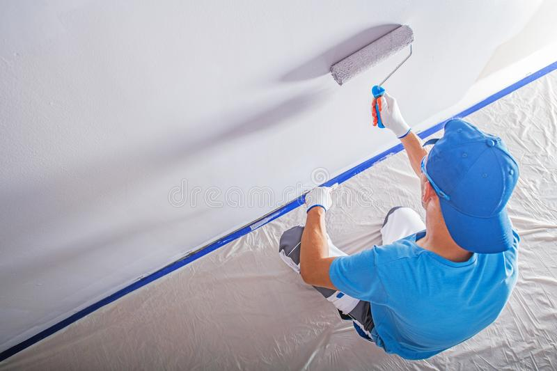 Remodeling and Painting stock images