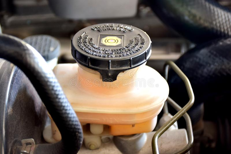 Remolie controlediesysteem voor Dieselmotoren, voor het Veranderen van/het Verwijderen van remolie van de auto worden gebruikt stock afbeelding