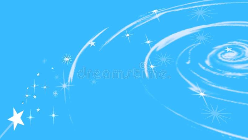 Remolino cósmico con las estrellas libre illustration